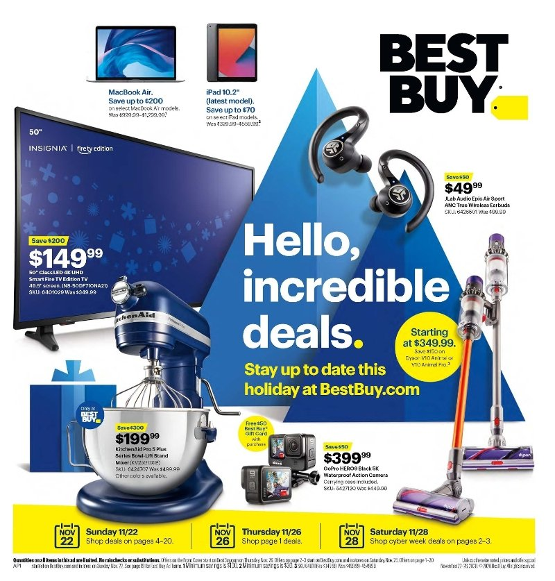 Best Buy Black Friday Ad Preview