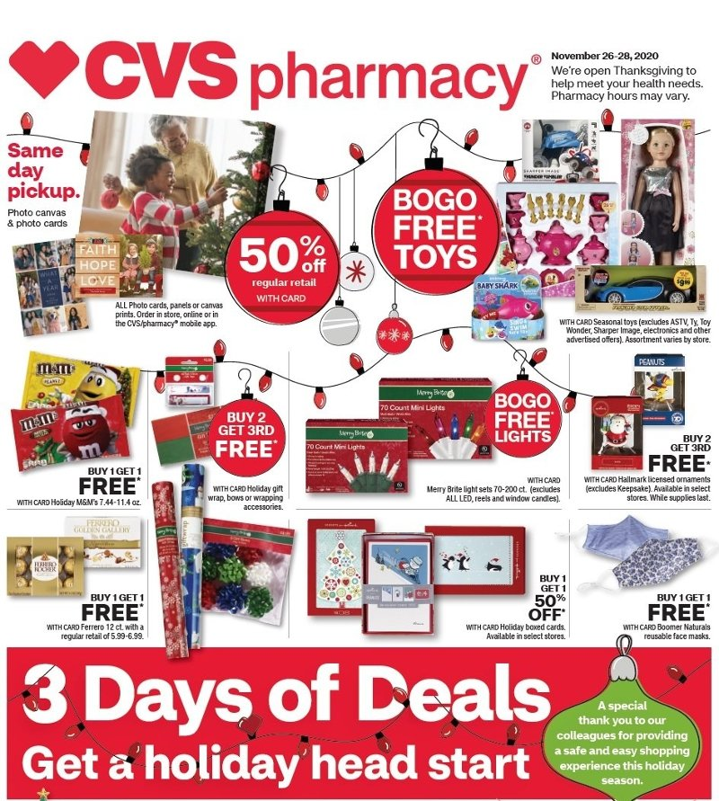 CVS Black Friday Ad preview