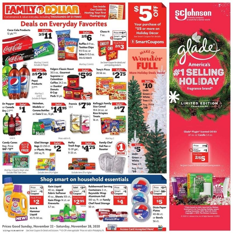 Family Dollar Black Friday Ad Preview