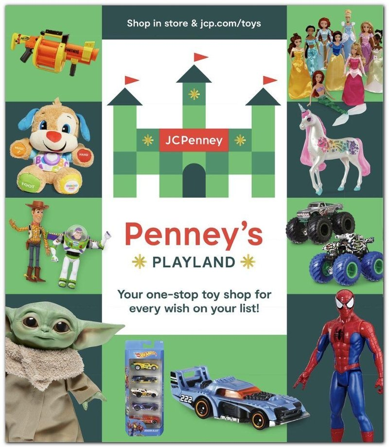 JCPenney Toy Book 2020