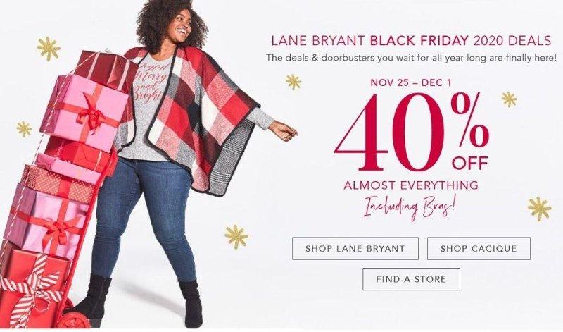 Lane Bryant Black Friday Ad Preview