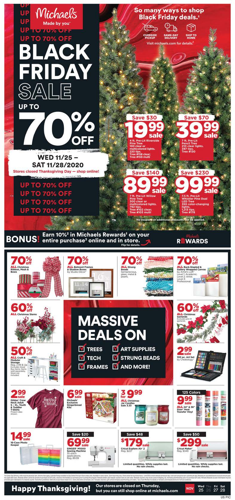 Michaels Black Friday Ad Preview