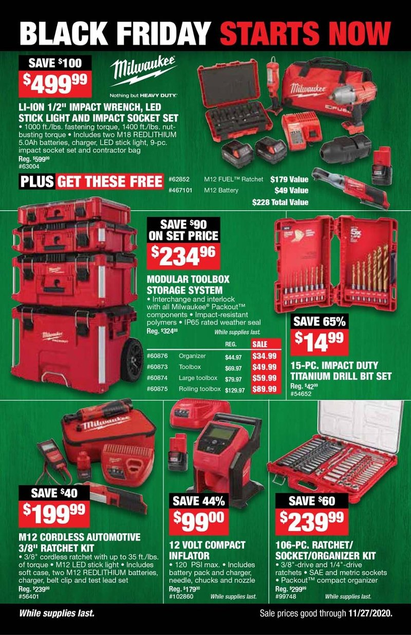 Northern Tool Black Friday Ad Preview