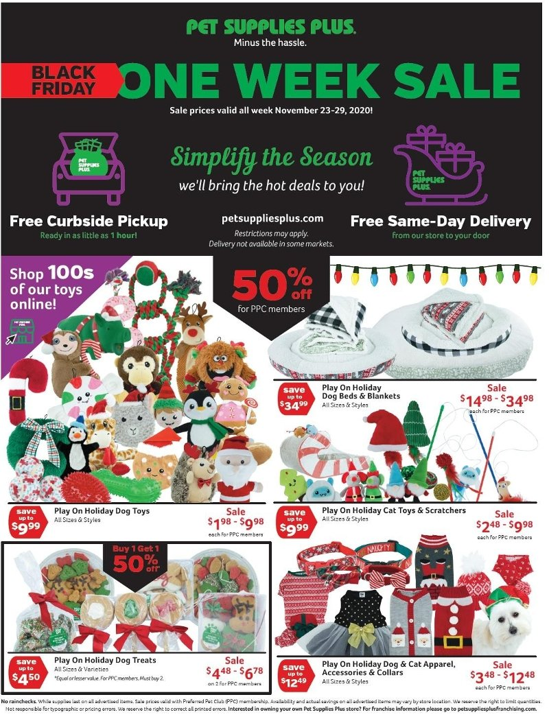 Pet Supplies Plus Black Friday Ad Preview