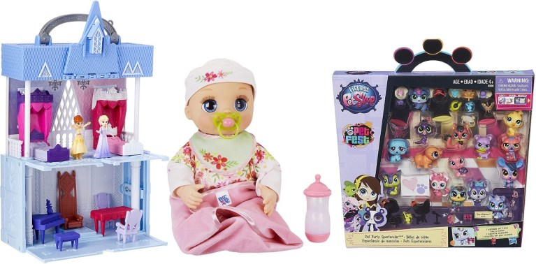 Save Up to 30% off Toys from Disney Princess, Baby Alive, Littlest Pet Shop and more