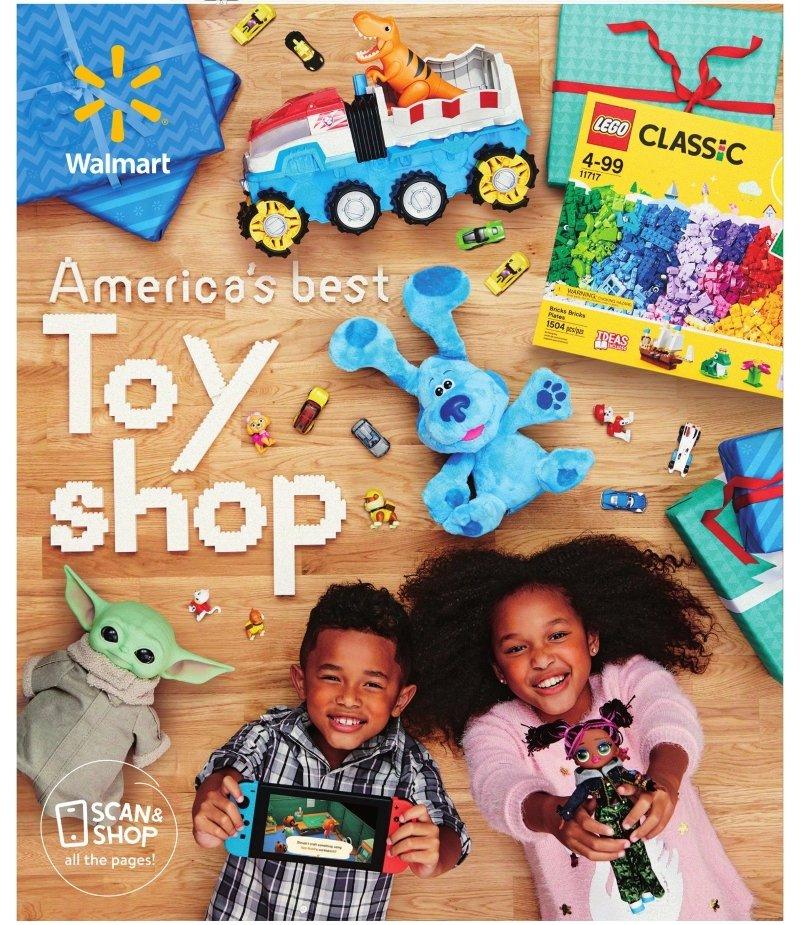 Walmart Toy Book 2020