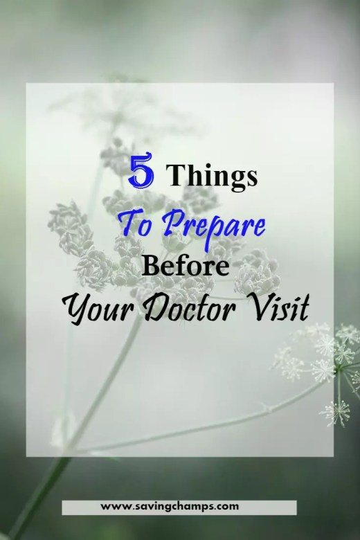 prepare for a doctor visit