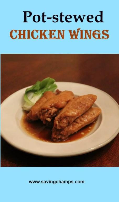 pot-stewed chicken wings