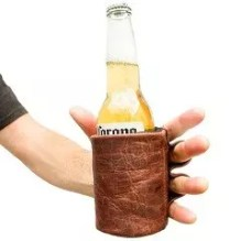 Leather Beer Glove