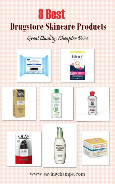 best drugstore skin care