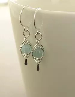 Frugal Turquoise And Silver Necklace And Earrings Sets
