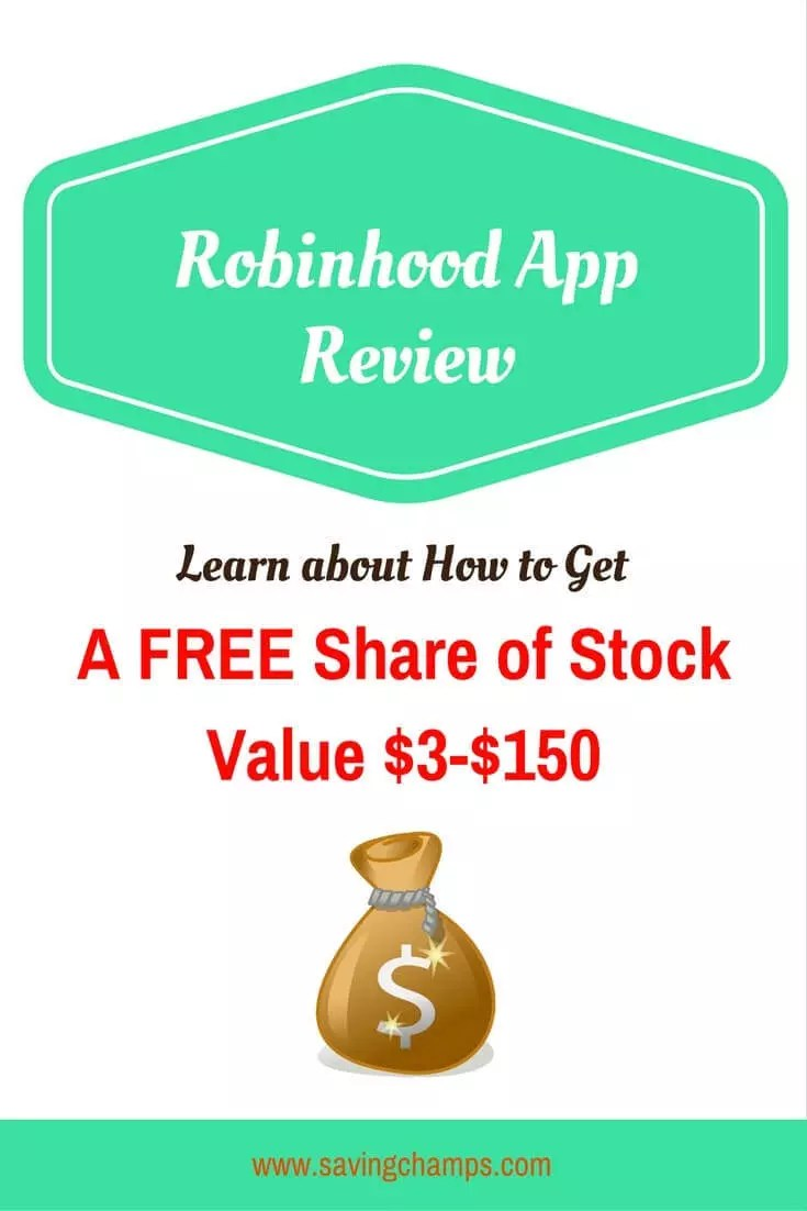 Robinhood app allows investors to buy and sell stocks with no commission, no minimum deposit requirement, and no maintenance fee. Learn about how you can get a free share of stock. | money apps | stock trading app | how to trade stock | earn money
