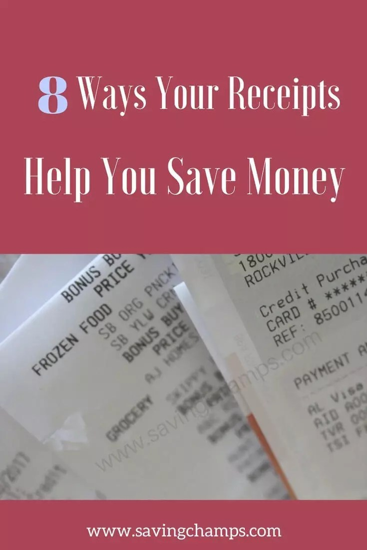 Save Your Receipts 8 Ways To Save Money With Receipts