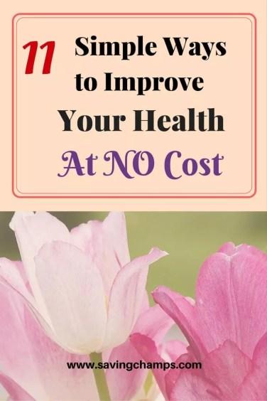 ways to improve your health