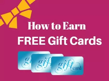 how to earn free gift cards