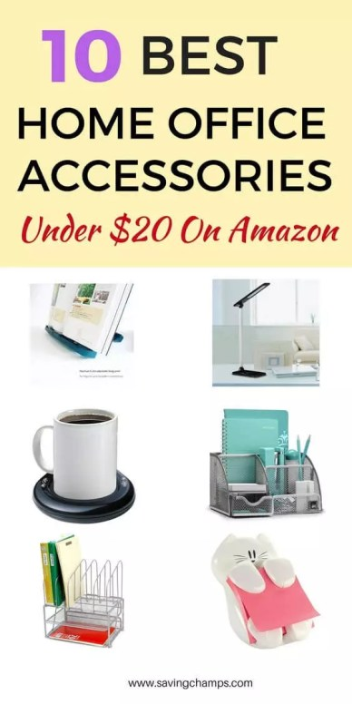 Best Home Office Accessories under $25 from Amazon