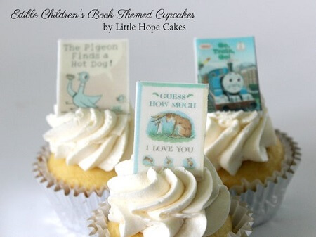 Gifts for Book Lovers-Edible Book Toppers