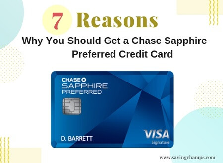 Benefits of Chase Sapphire Preferred Credit Cards