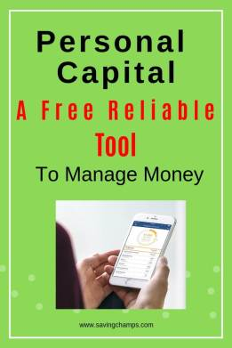 Personal Capital for Finance Management