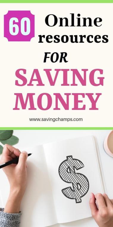 online resources save money