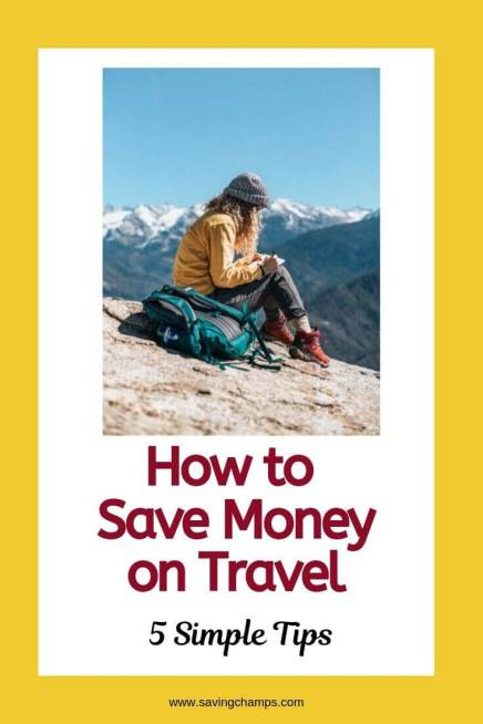 How to save money on travel: 5 simple tips