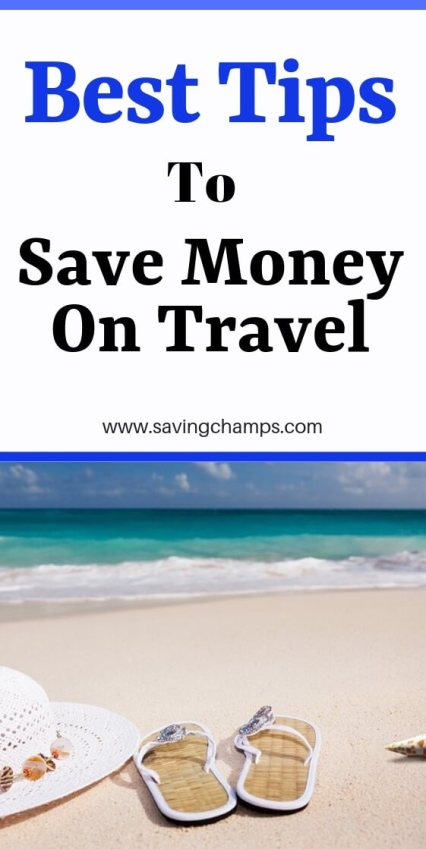 Best Tips to Save Money on Travel_pin