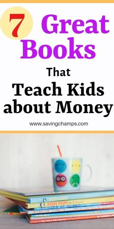 7 best books to teach kids about money