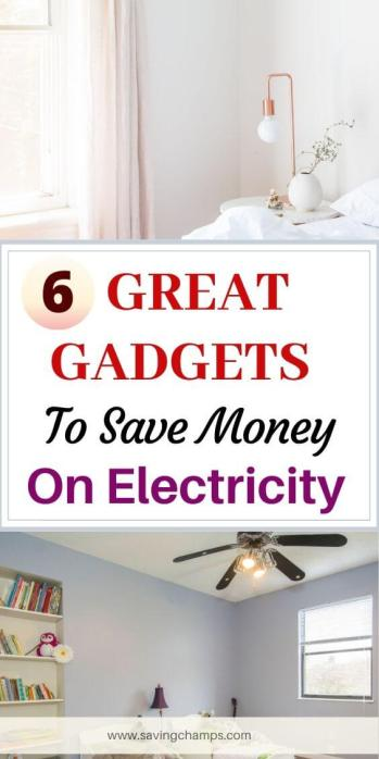 6 Gadgets to Save Electricity