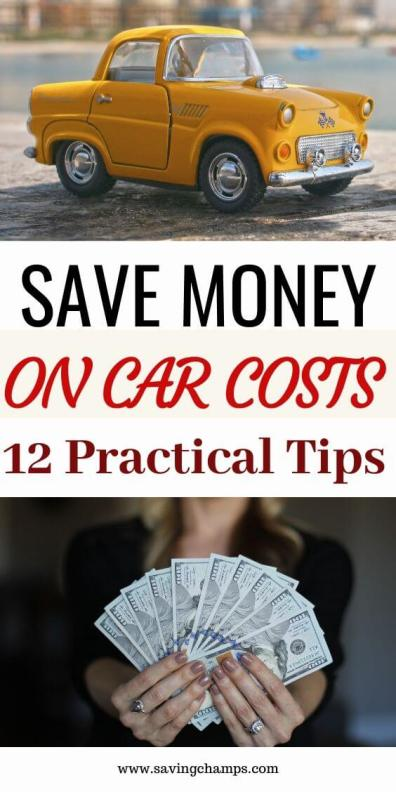 Save money on car costs
