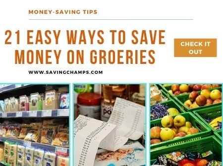 21 Easy Ways to Save Money at Grocery Stores