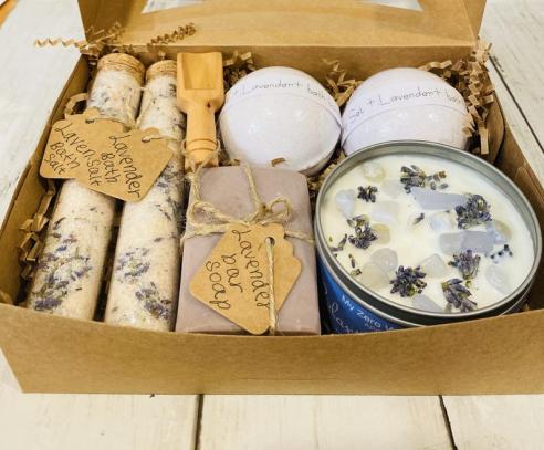Organic Spa Gift Set