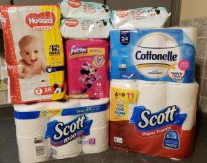 Huggies diapers wipes Pull-ups Scott paper