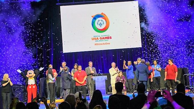 Special Olympics at Disney World