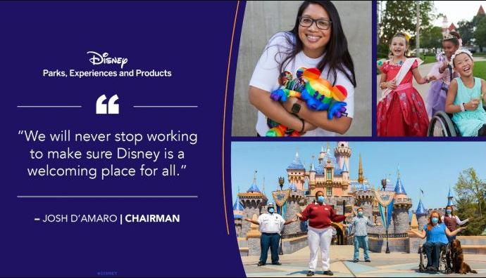 Disney Inclusion dress code