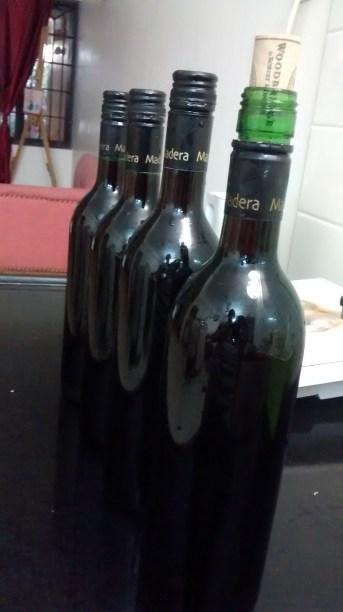 home made grape wine