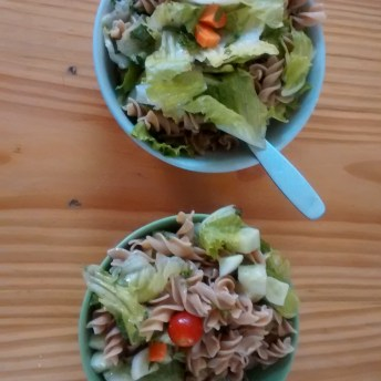 home cooking: pasta salad