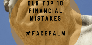 Our Top 10 Financial Mistakes