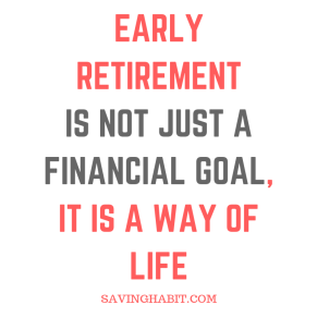 What is Early retirement