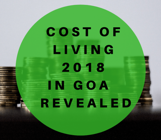 Cost of Living 2018 in Goa