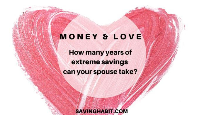 How many years of extreme savings can your spouse take_