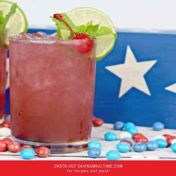 USA Skittles Cocktail