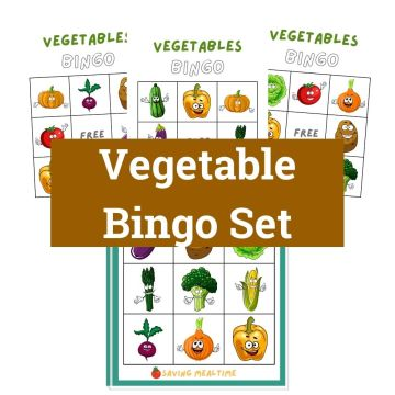 Vegetable Bingo Set