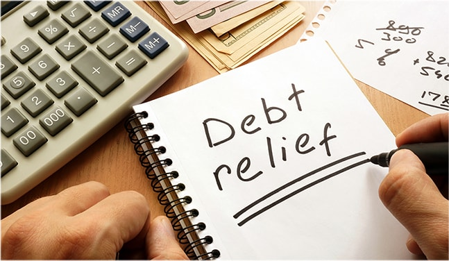 dr 01 Find The Best Debt Relief Option For You