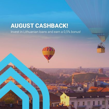 EstateGuru Cashback August @ Savings4Freedom