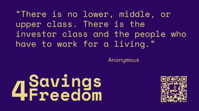 Savings4Freedom Quotes Anonymous