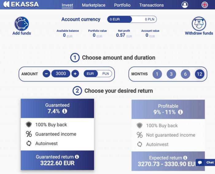 Ekassa Account @ Savings4Freedom