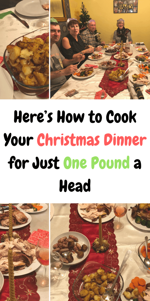 Cook your Christmas dinner for just one pound a head, making your Christmas dinner budget friendly. #ChristmasDinner #CheapChristmas #BudgetDinner