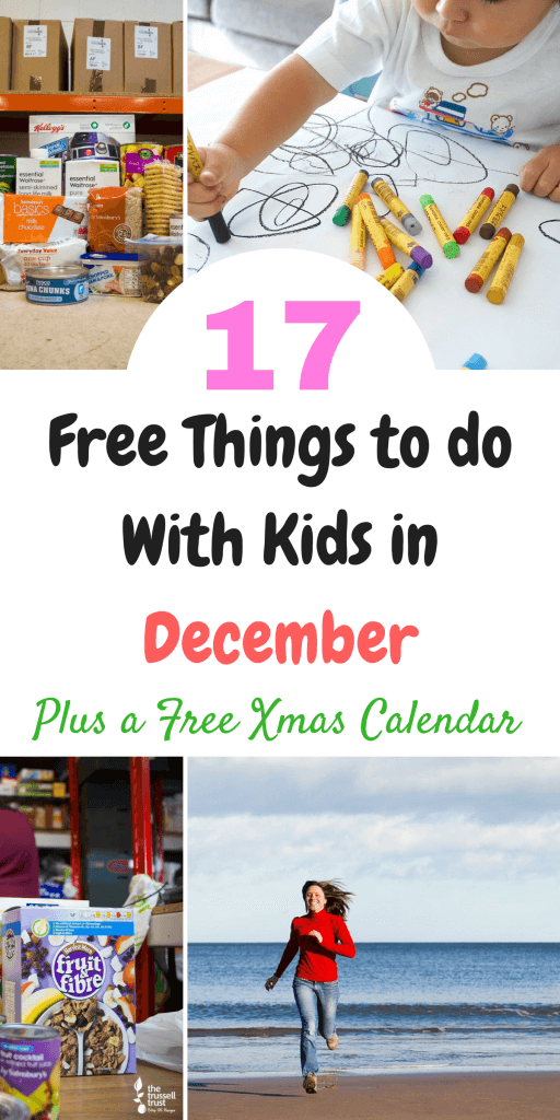 17 free activities to do with kids in December including a free downloadable Reverse Advent Christmas Calendar by Laura at Savings 4 Savvy Mums.