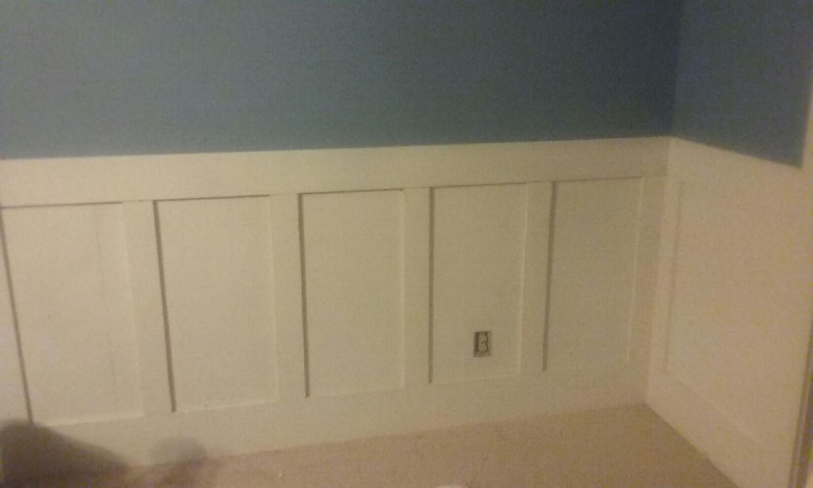 Wainscoting on the cheap  a DIY project  Savings Beagle