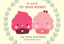 20 ways to save money on food shopping